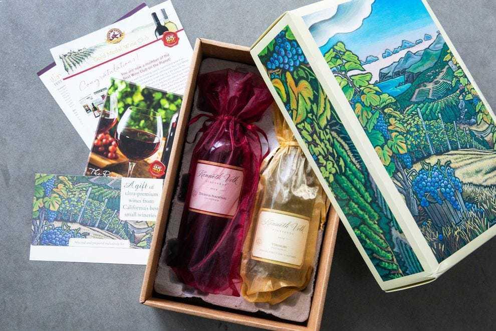 The Best Wine Club Around: Gold Medal Wine Club