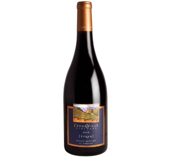 2016 Cedarville Estate Bottled Syrah