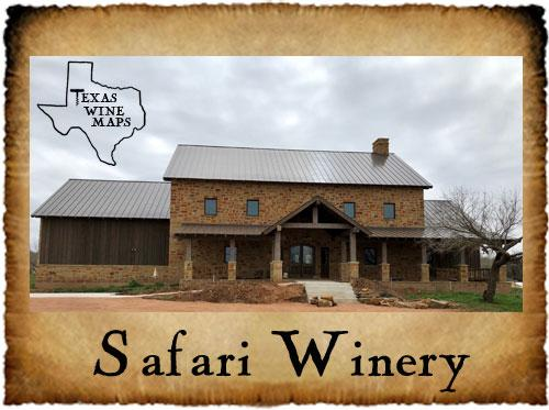 Safari Winery Texas Wineries