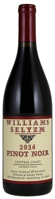 Williams Selyem Central Coast Pinot Noir 2014