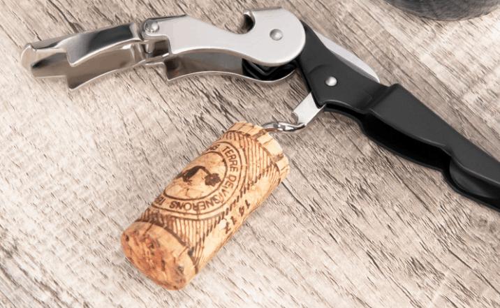 Wine key and waiter's corkscrew