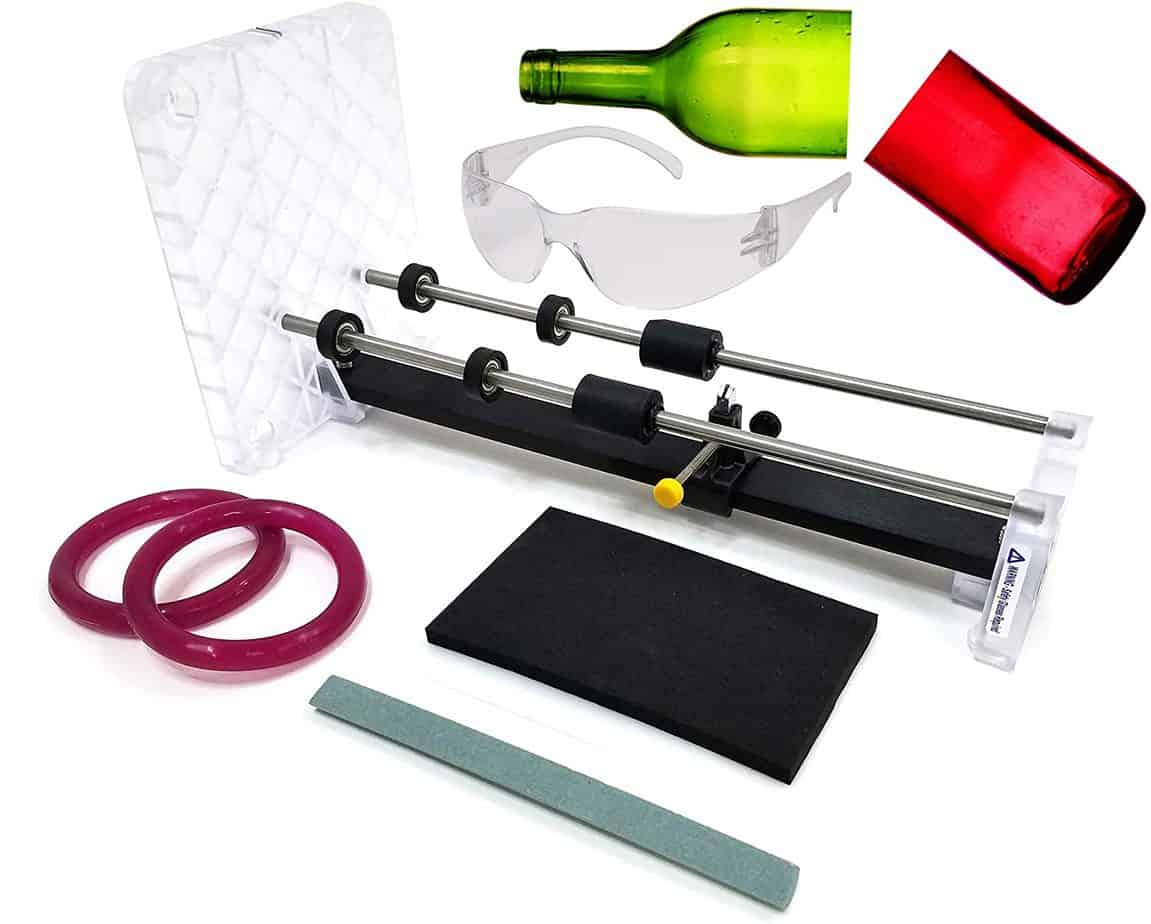 creators glass bottle cutter