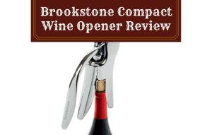 Brookstone Compact Wine Opener Review – My Honest Opinion