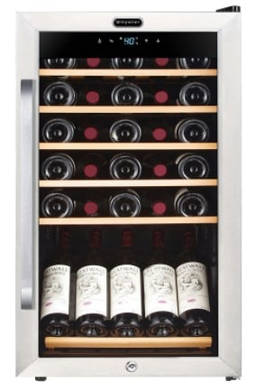 Whynter 34-bottle compressor wine cooler