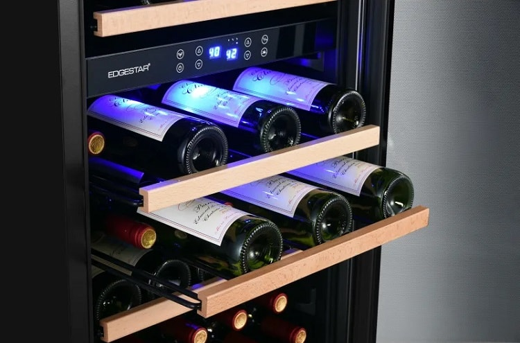 EdgeStar 38-bottle dual-zone wine cooler