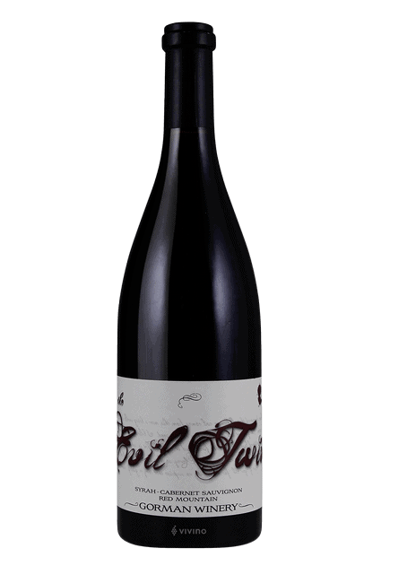 Gorman Winery The Evil Twin Syrah - Cabernet Sauvignon | Vivino