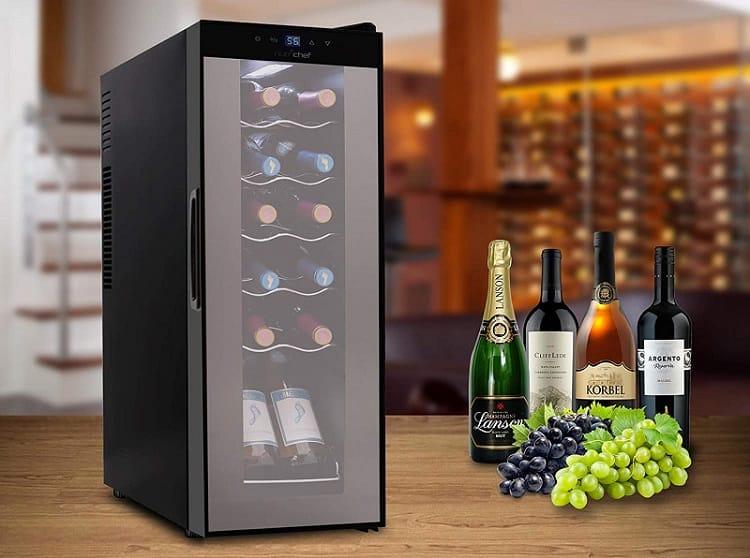 Nutrichef PKCWC120 wine cooler