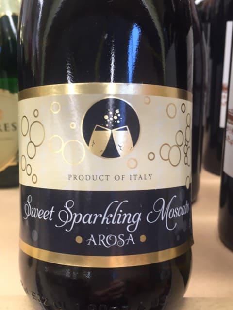 Arosa Sweet Sparkling Moscato Blanc   Vivino