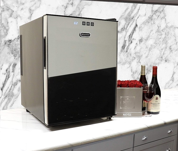 Whynter WC-201TD thermoelectric wine cooler