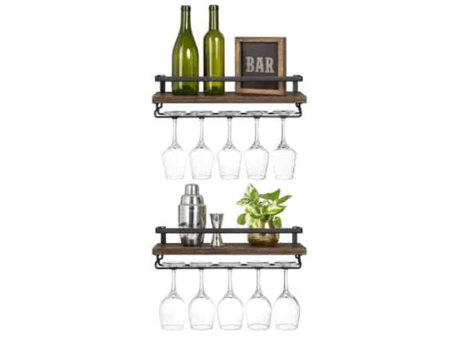 mkono wine rack