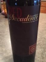 Red Decadence Chocolate Red Wine | Vivino