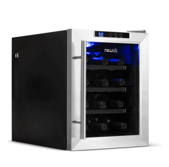 NewAir 12 Bottle Freestanding Countertop Wine Fridge | NewAir