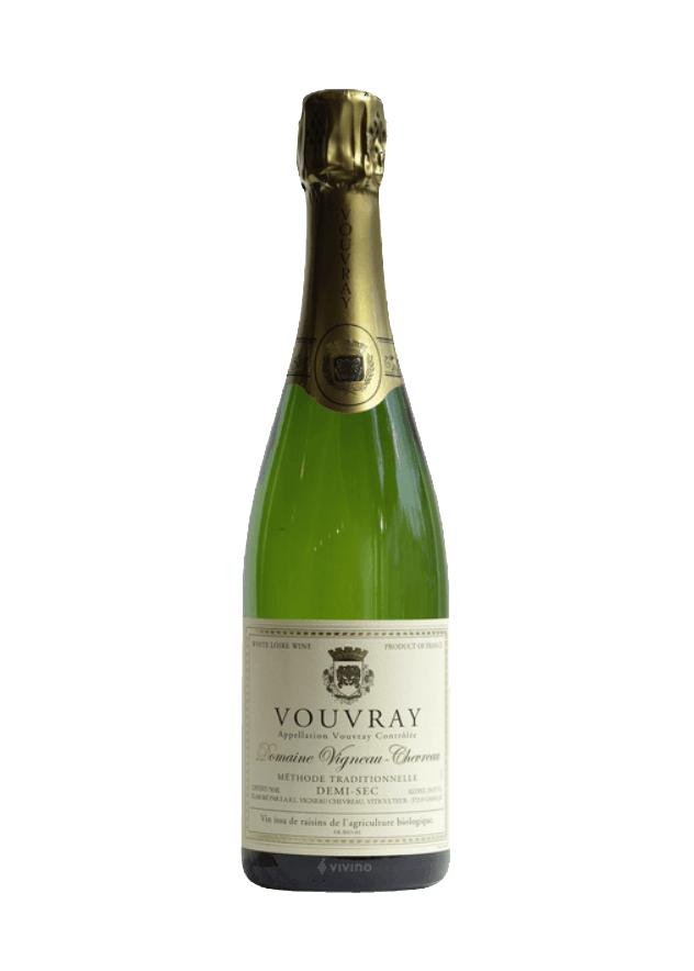 Vigneau-Chevreau Vouvray Pétillant Demi-Sec   Vivino