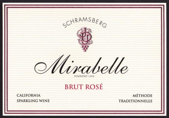 Schramsberg Mirabelle Brut Rose | Wine.com