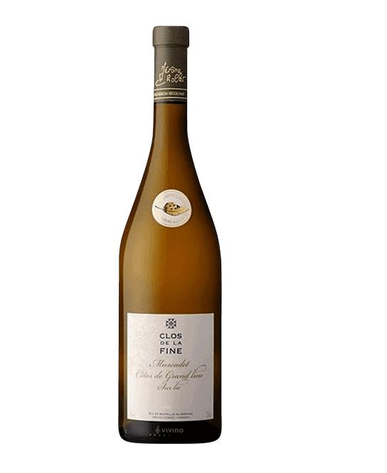Domaine des Herbauges Clos de la Fine Muscadet Côtes de Grandlieu Sur Lie   Wine Library