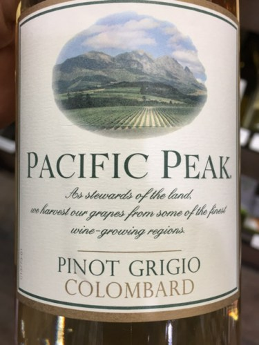 Pacific Peak Pinot Grigio - Colombard | Drizly