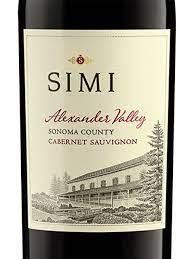 Simi Alexander Valley Cabernet Sauvignon 2015 | Wine.com