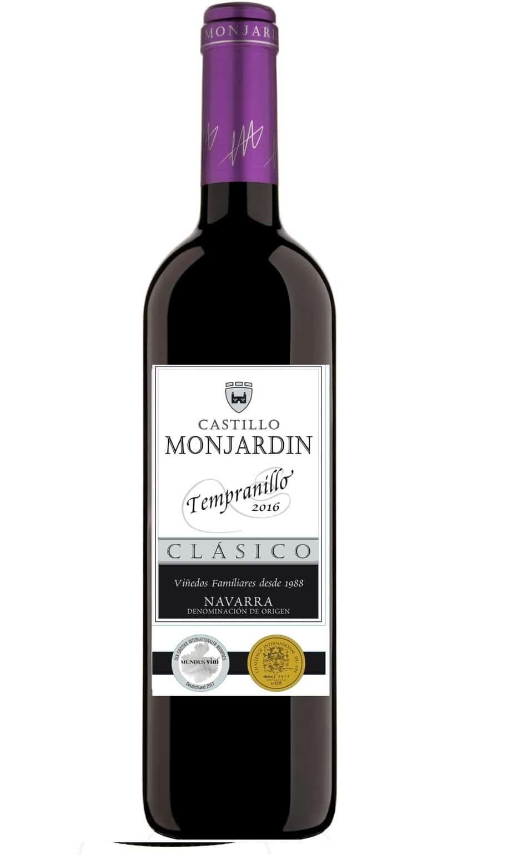 Bodegas Castillo de Monjardin Clasico Tempranillo 2016 | Wine.com