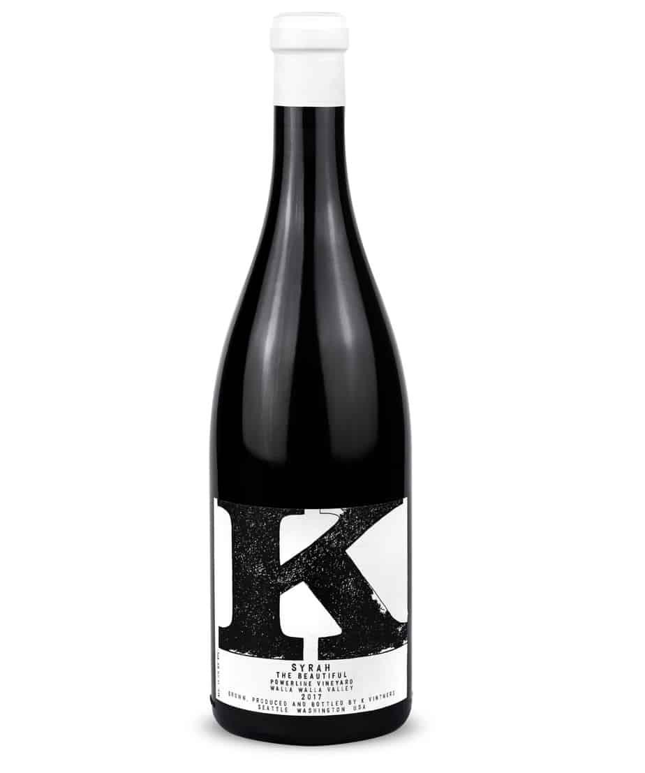 K Vintners The Beautiful Syrah 2017   Wine.com